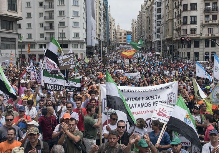 La Alianza Rural prepara otra gran manifestación para marzo