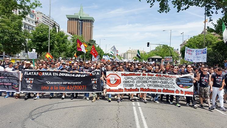 manifestacion-pescadores