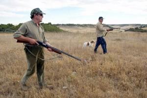 Cazadores en media veda / Foto: Heraldo de Soria