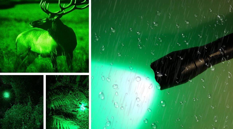Esta es la linterna de caza con mejores opiniones en Amazon (y a precio de ganga)