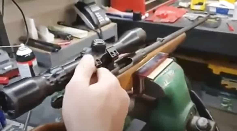 El montaje de este visor de caza arranca las carcajadas de los cazadores