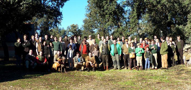 Celebrada con éxito la V montería social del Real Club de Monteros