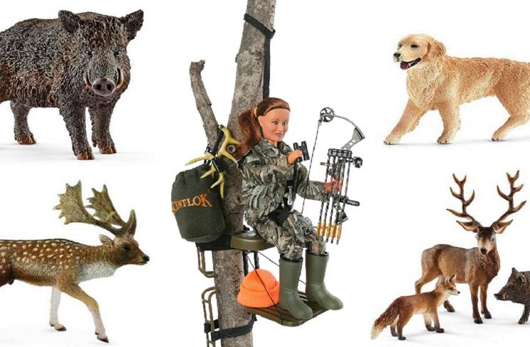 muñecos de caza