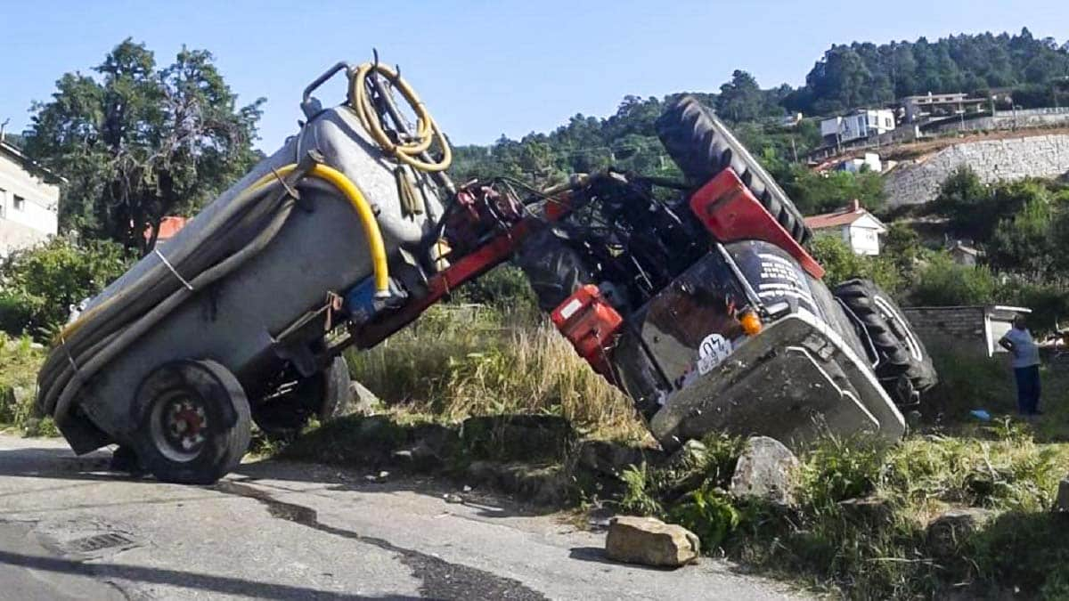 muere agricultor accidente tractor