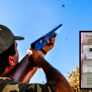 Denunciado un cazador por no ir recogiendo sus vainas durante una tirada de palomas en puesto fijo