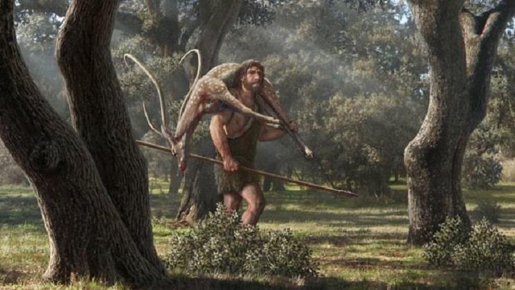 Los neandertales ya podían cazar a distancia hace 300.000 años