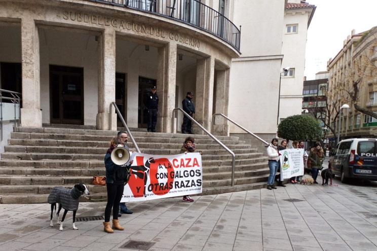 Las manifestaciones contra la caza fracasan en toda España
