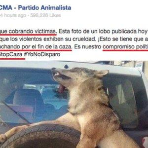 PACMA viraliza otra noticia falsa generando odio contra los cazadores