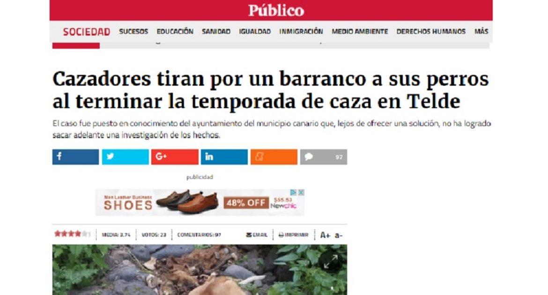 La Fundación Artemisan solicita la rectificación de una noticia falsa a publico.es