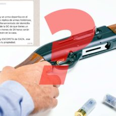 ¿Tener un arma en una casa es una solución contra los okupas?
