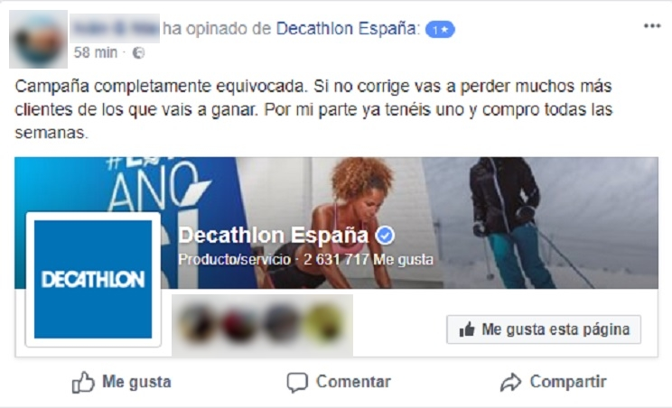 animalistas boicotean Decathlon
