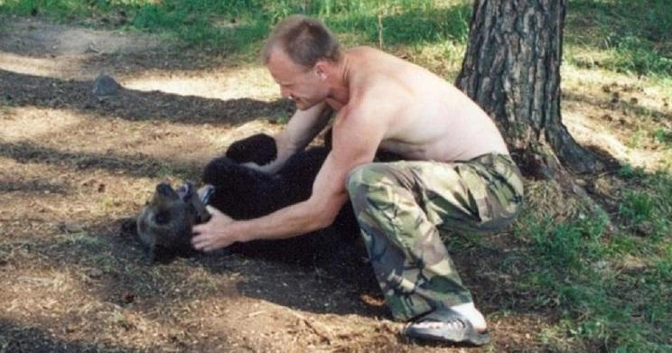 oso mata a cazador