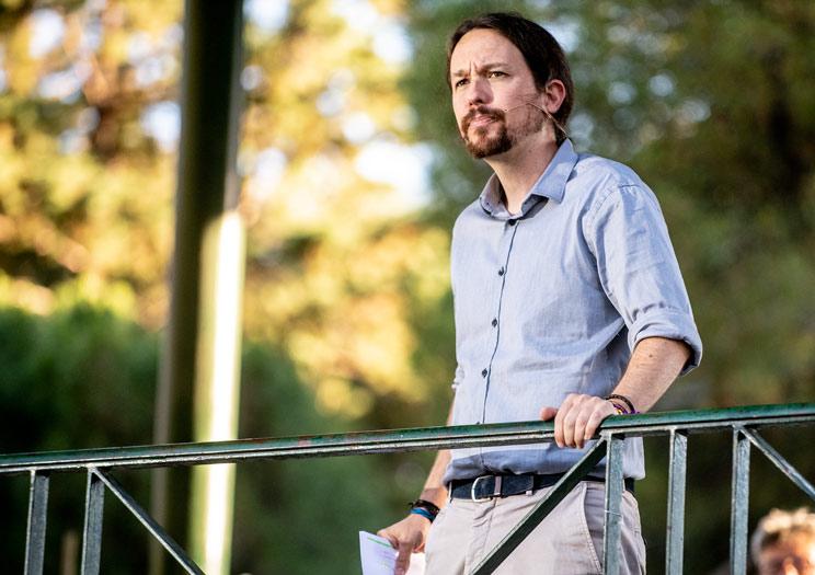 Pablo Iglesias reconoció que no le gusta la caza. /Podemos