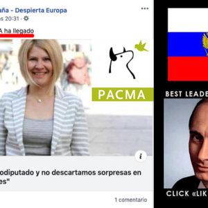 La maquinaria pro-rusa empieza a promocionar a PACMA para las elecciones