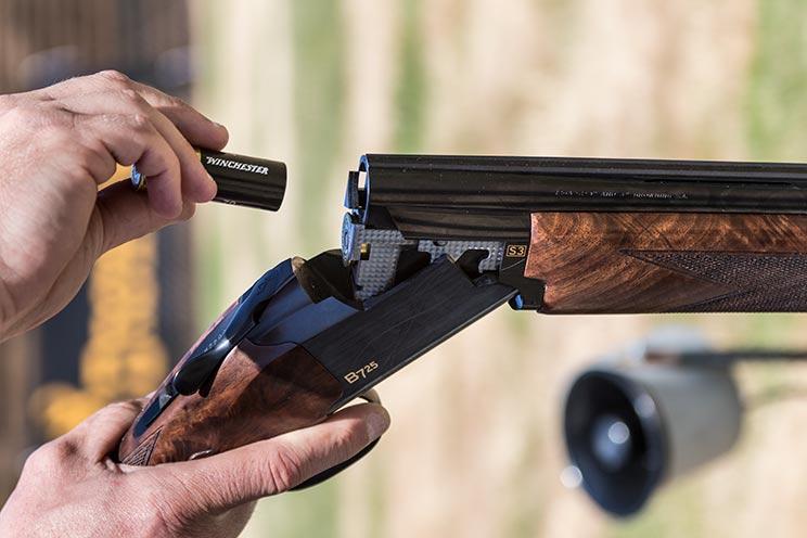 carga de una escopeta