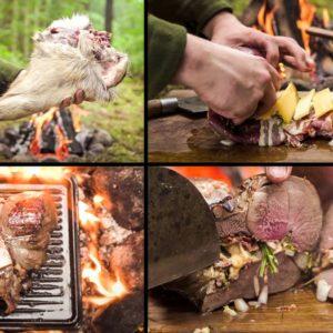 Caza un corzo y cocina su pata en el monte con esta exquisita receta