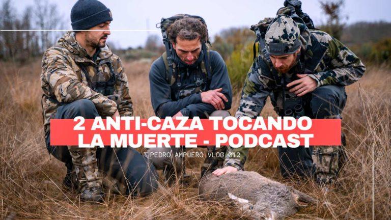 Imagen de la jornada de caza tras abatir una hembra de corzo. © Pedro Ampuero