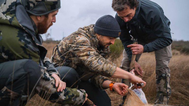 La caza mayor es una actividad necesaria para controlar poblaciones y evitar daños a la agricultura. ©Pedro Ampuero