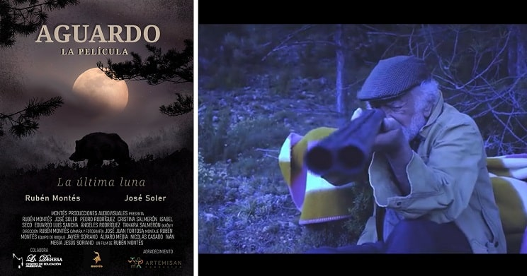 Esta es la primera película sobre espera de jabalí rodada en España