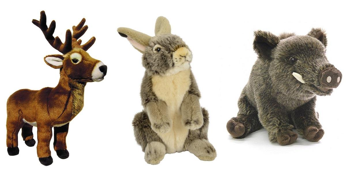 Diez peluches de caza ideales para los más pequeños