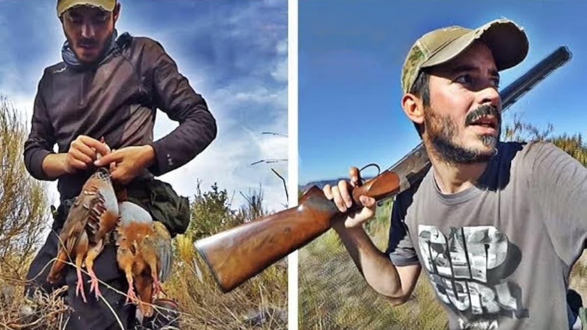 Esto es caza de perdiz roja salvaje con mayúsculas