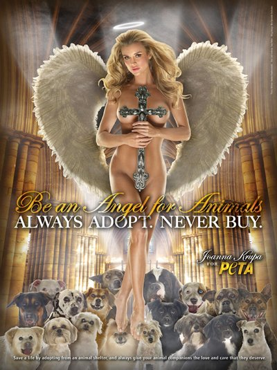peta-often-gets-celebs-to-pose-nude-but-this-ad-featuring-joanna-krupa-with-a-crucifix-hit-a-nerve-the-catholic-church-was-outraged