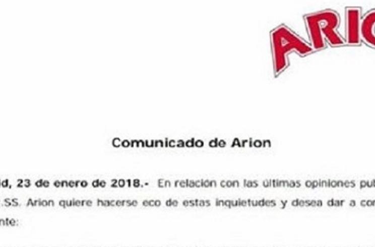 La marca de piensos Arion se declara anticaza y las redes sociales piden boicotearla