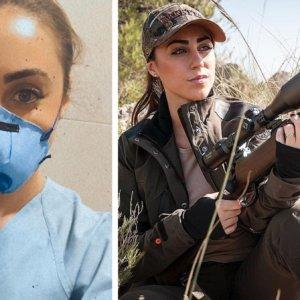 Pilar Montero, la cazadora que suelta el rifle y se pone la mascarilla para 'cazar' al coronavirus