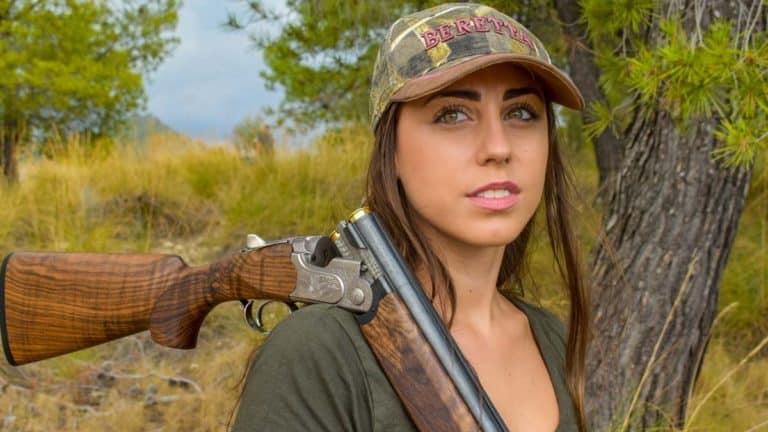 Pilar Montero, cazadora y colaboradora de Jara y Sedal. /JyS