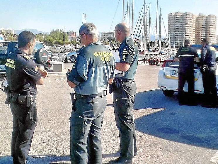 La Guardia Civil pilla a dos chinos furtiveando