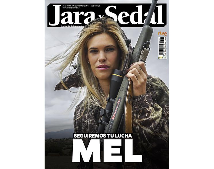 Jara y Sedal dedica su portada a Mel Capitán y tiñe de negro su cabecera