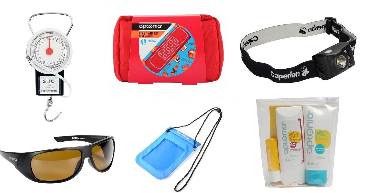 Los 10 artículos que no pueden faltar en tu maletín de pesca