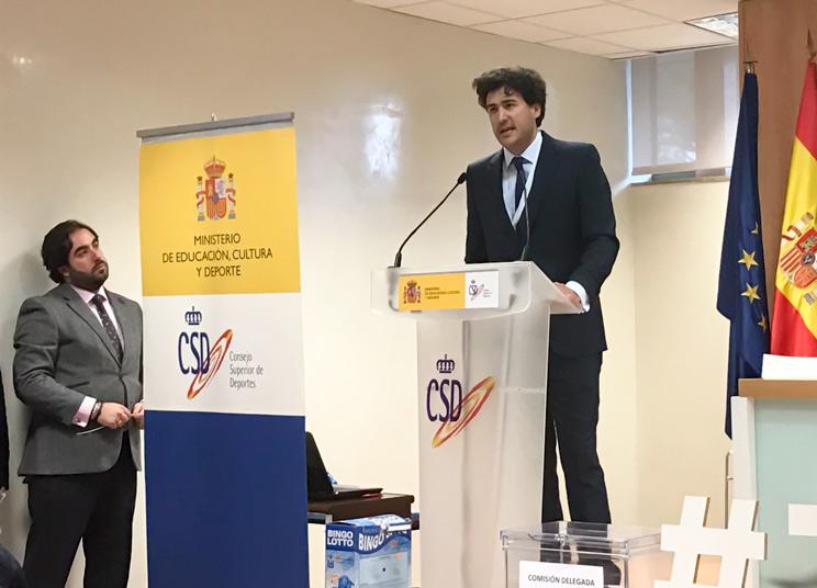 presidente de la Real Federación Española de Caza
