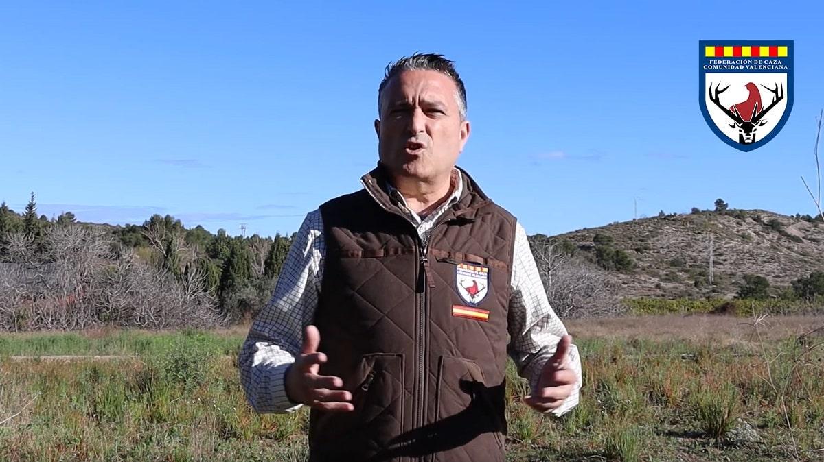 El presidente de la Federación de Caza de la Comunidad Valenciana defiende al colectivo