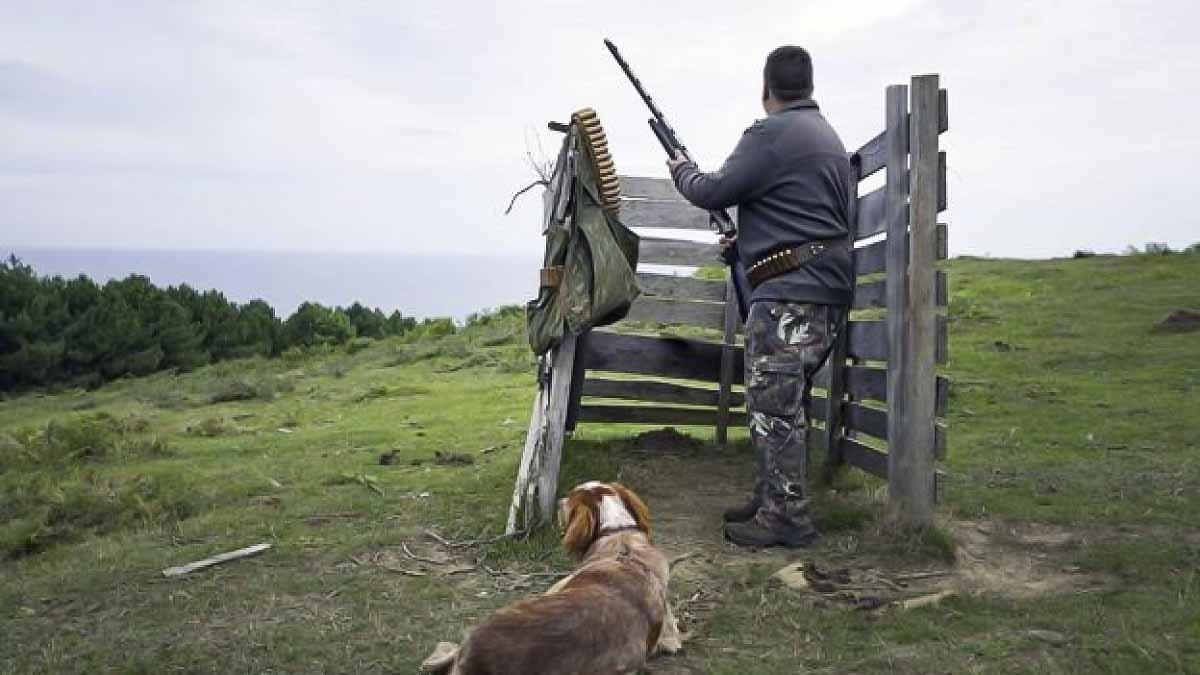 Prohíben la caza en el Monte Ulía de San Sebastián tras años de polémica