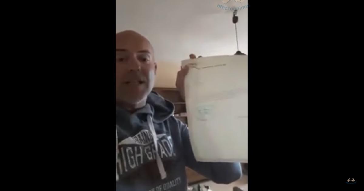 La protectora 'El arca de Noé' despide a un trabajador después de grabar este vídeo