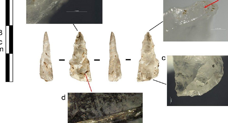 Descubren los primeros proyectiles de caza desarrollados en la Edad de Piedra
