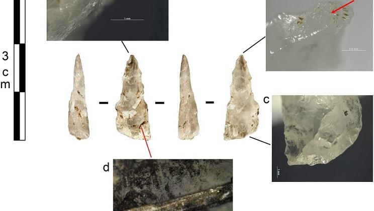 Fotos de algunos de los proyectiles encontrados. / Plos One
