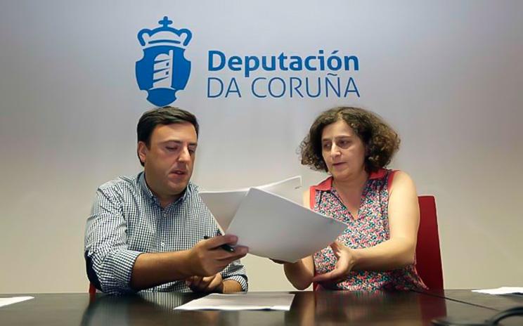 Valentín González Formoso y Goretti Sanmartín