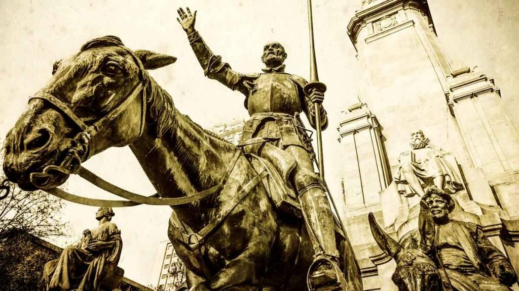 don quijote cazador
