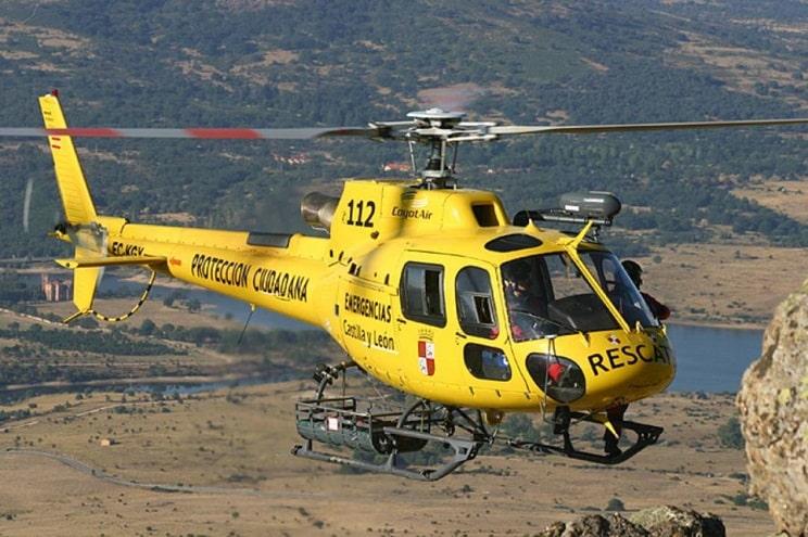 Un cazador de León recibe un disparo en una pierna y tiene que ser evacuado en helicóptero