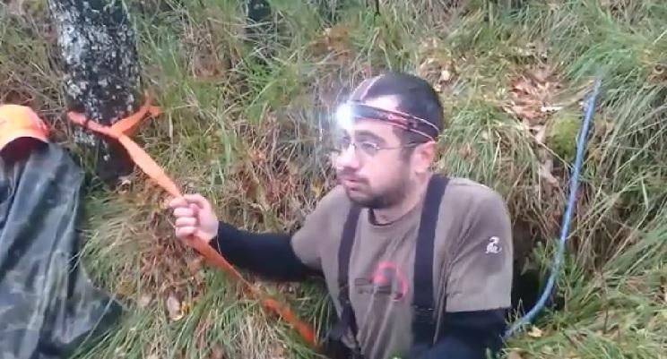 rescate de perros de caza