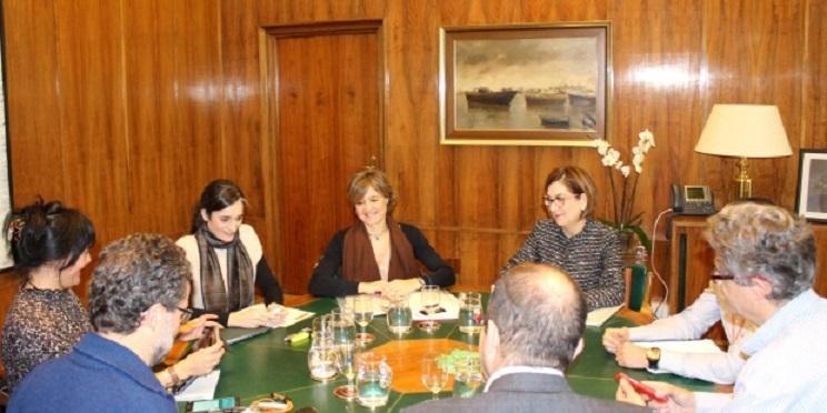 Foto de la reunión entre ecologistas y MAPAMA. / MAPAMA