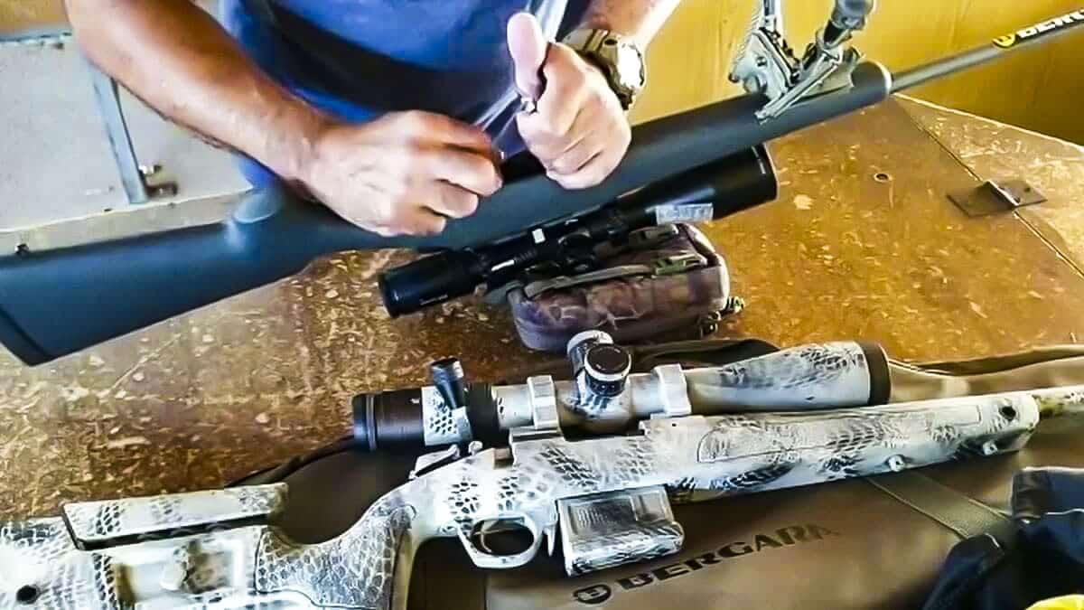 Este truco de Rafa Carrillo para cargar el rifle más rápido sorprende a muchos cazadores
