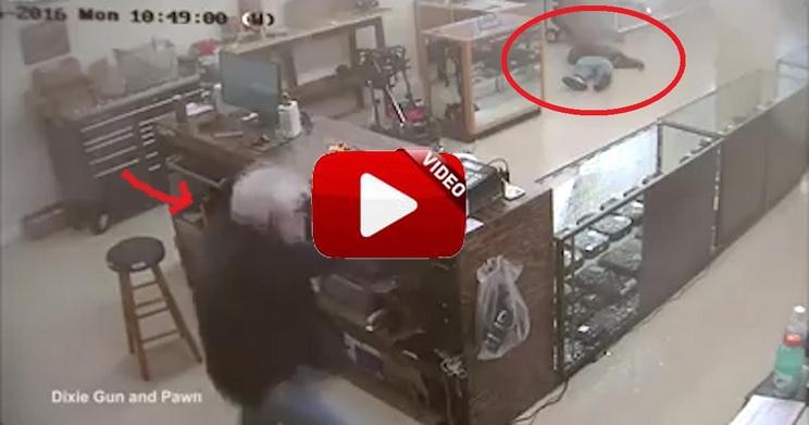 Dos encapuchados intentan robar en una armería y pagan caras las consecuencias