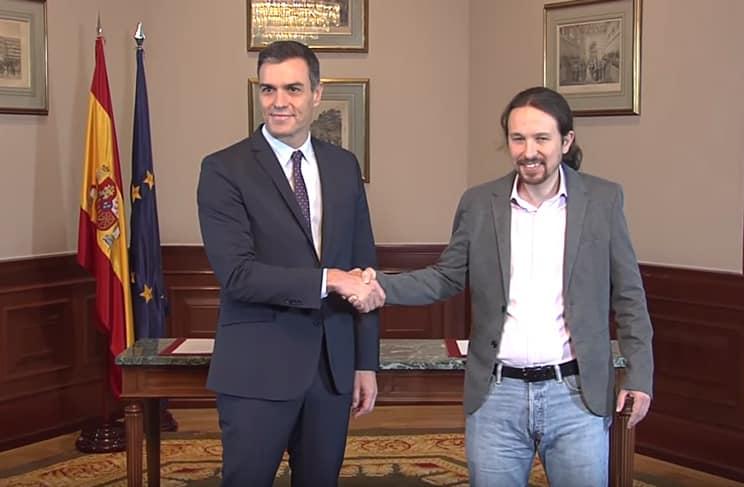 PSOE y Unidas Podemos firman un preacuerdo de gobierno que incluye la «garantía de un trato digno a los animales»