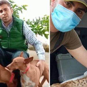 El cazador que rescató a un lince lanza un contundente mensaje a los animalistas
