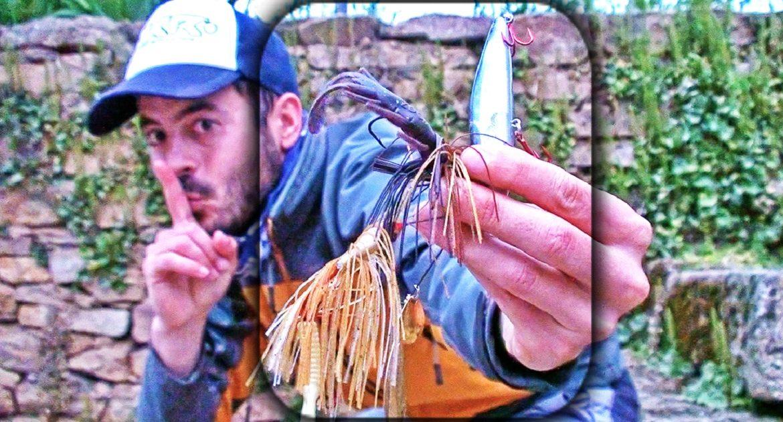3 señuelos para pescar basses con éxito en primavera