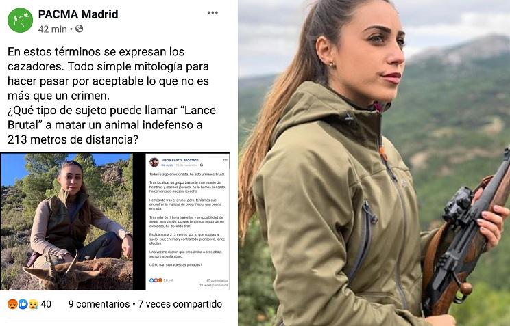 PACMA Pilar Montero