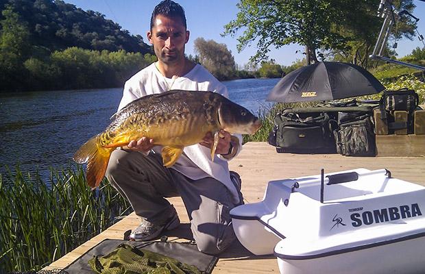 Primera jornada de pesca primaveral, por Juan Carlos. Puente de Mayo